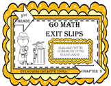 Go Math Exit Slips Chapter 8 First Grade
