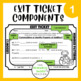 Go Math! Exit Tickets- Chapter 1