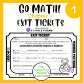 Go Math! Exit Tickets- Chapter 1 (UPDATED)