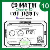 Go Math! Exit Tickets- Chapter 10 (UPDATED)