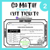Go Math! Exit Tickets- Chapter 2 (UPDATED)