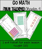 Go Math Exit Tickets Chapter 4