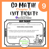 Go Math! Exit Tickets- Chapter 9 (Updated)