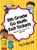 Go Math Exit Tickets Grade 5