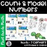 Go Math! Chapter 6 Count and Model Numbers Bundle for First Grade