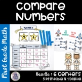 Go Math! Chapter 7 Compare Numbers Bundle for First Grade