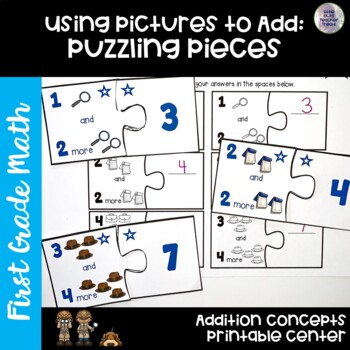 Go Math! First Grade Chapter 1: Addition Concepts BUNDLE