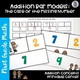 Go Math! First Grade Chapter 1 Center: The Case of the Missing Number