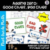 Go Math! First Grade Chapter 1 FREEBIE: Good Clues, Bad Clues