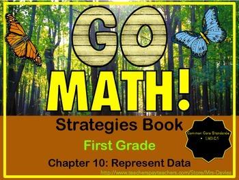 Go Math! First Grade Chapter 10 Represent Data Strategies