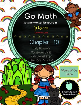 Go Math! First Grade Chapter 10 Supplemental Resources-Common Core