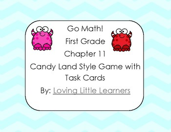 Go Math! First Grade Chapter 11: 3D Shapes Candy Land Style Self Checking Game