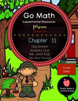 Go Math! First Grade Chapter 11 Supplemental Resources-Com