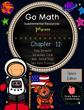 Go Math! First Grade Chapter 12 Supplemental Resources-Common Core
