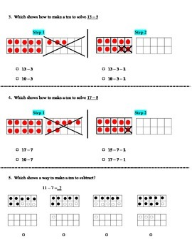 Go Math! First Grade Chapter 4 Review and Homework