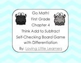 Go Math! First Grade Chapter 4 Think Add to Subtract Diffe