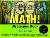 Go Math First Grade Chapter 5 Strategies Book