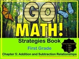 Go Math First Grade Chapter 5 Strategies Book