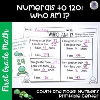 Go Math! First Grade Chapter 6 Center: Who Am I?