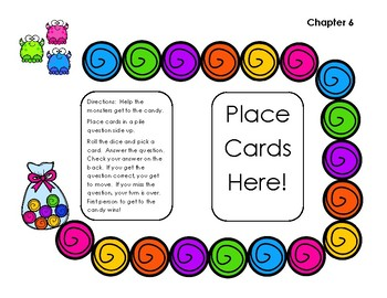 Go Math! First Grade Chapter 6: Count and Model Numbers Self Checking Game