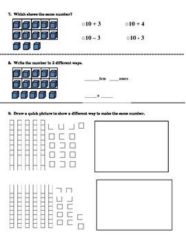 Go Math! First Grade Chapter 6 Review