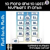 Go Math! Chapter 7 Finding 10 More or 10 Less Center for First Grade