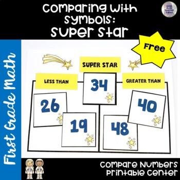 Go Math! First Grade Chapter 7 FREEBIE: Super Star