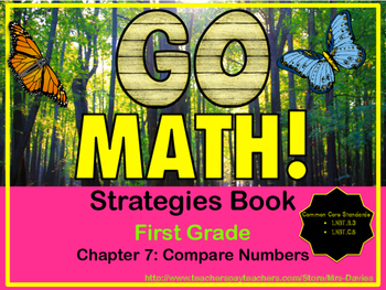 Go Math! First Grade Chapter 7 Compare Numbers Strategies