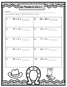 Go Math! First Grade Chapter 8 Supplemental Resources-Common Core