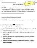 Go Math! First Grade Chapter 9 Review