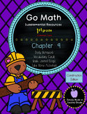 Go Math! First Grade Chapter 9 Supplemental Resources-Common Core