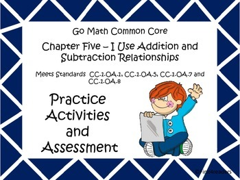 Go Math First Grade Chapter Five Activities