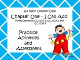 Go Math First Grade Chapter One Activities