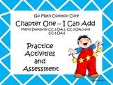 Go Math First Grade Chapter One Activities