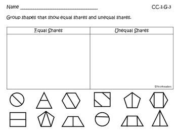 Go Math First Grade Chapter Twelve Activities