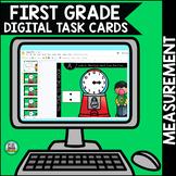 Digital Learning Go Math First Grade Digital Task Cards- Chapter 9