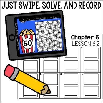 Go Math First Grade Digital Task Cards- Represent Data