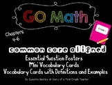 'Go Math' First Grade Essential Question Posters & Vocabul