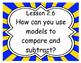 Go Math First Grade Essential Questions Poster