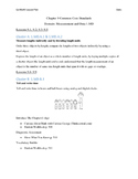 Go Math - First Grade Lesson Plans - Chapter 9