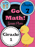Go Math First Grade Lessons : Chapter Seven