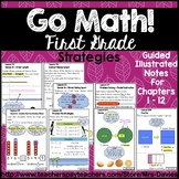 Go Math! First Grade Strategies - Illustrated Notes Mrs Davies