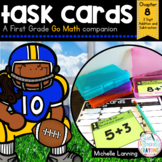 Go Math-First Grade Task Cards, 2 Digit Addition and Subtraction, Chapter 8