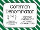 Go Math! Florida 5th Grade Vocabulary Cards Common Core Word Wall