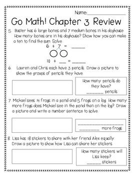 Operations and Algebraic Thinking (Chapter 3 Unit Review)