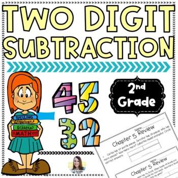 2 Digit Subtraction Unit Review (Chapter 5 Unit Review)