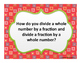 Go Math! Florida Grade 5 Essential Questions Ch.8