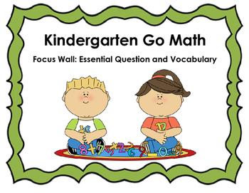 Go Math Focus Wall