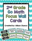 Go Math Focus Wall Cards 2nd Grade
