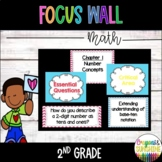 Go Math Focus Wall- 2nd Grade (Entire Year)
